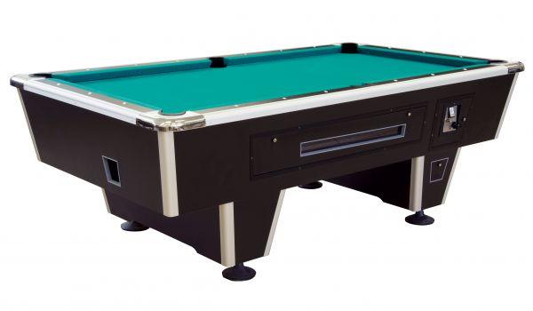 Billardtisch ORLANDO - MIT MÜNZEINWURF, der sehr robuste Tisch, besonders für Schulen, Jugendheimen