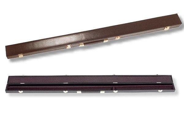 Koffer für Snooker-Queues mit 3/4-Teilung (langes Oberteil)