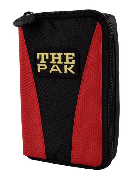 Darttasche THE PAK-MULTI, Farbe rot / schwarz