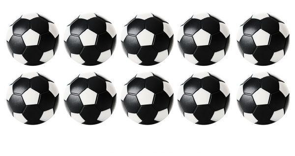 Kickerball Robertson Winspeed 35mm schwarz/weiß
