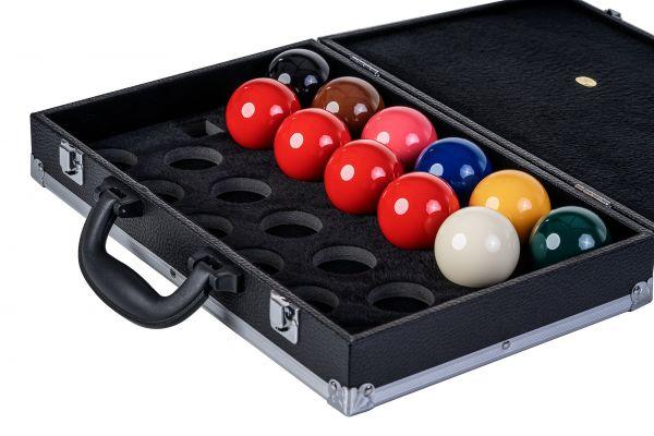 Koffer Robertson für 22 Snookerkugeln 52mm