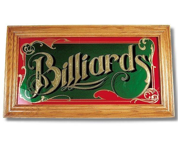"""Spiegel """"Billiard"""" mit Echtholzrahmen in Eiche"""