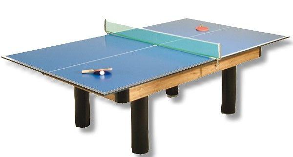 Tischtennisauflage für Billardtische inkl. Zubehör