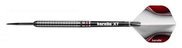 Steeldart Karella ShotGun silver, 80% Tungsten, 22g oder 24g