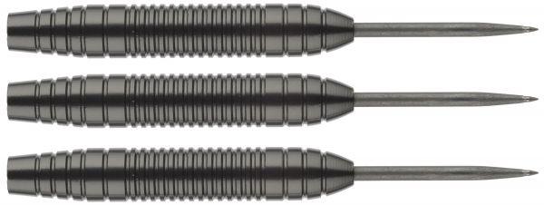 Steelbarrel Karella Eco Line EL-04, mit Metallspitze, schwarz eloxiert, Gewicht 20g, Länge: 52mm
