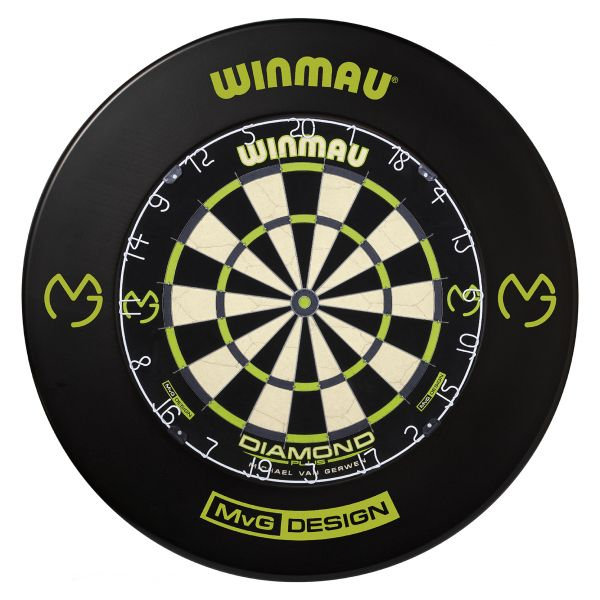 WINMAU MvG Dartboard-Set