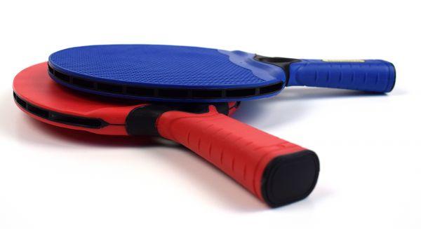 Tischtennis Schläger-Set Bandito LONGLIFE, Outdoor und Indoor
