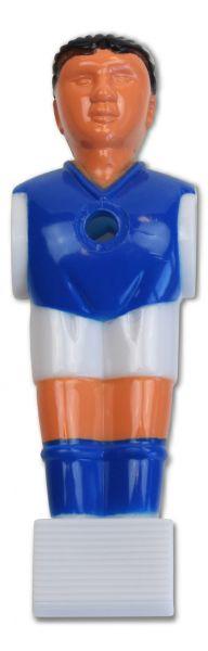 Kickerfigur PROFI blau / weiss