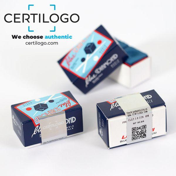 Kreide BLUE DIAMOND, Kleine Schachtel-Box mit 2 Stck. Farbe sky-blue