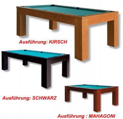 Billardtisch TRENTO, ein eleganter Eiche-Massivholz -Tisch zu einem Top-Preis