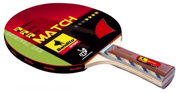 Tischtennisschläger Bandito Match ****