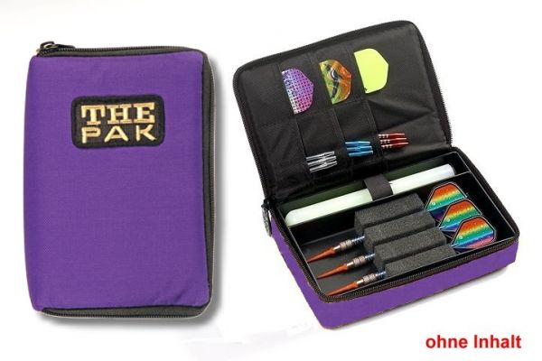 Darttasche THE PAK, Farbe violett