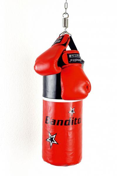"Boxsack Bandito ""Junior"" Set, inklusive Bandito-Boxhandschuhe"