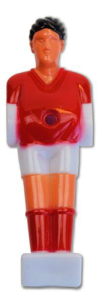"Kickerfigur ""Hobby II"" , rot /weiß"