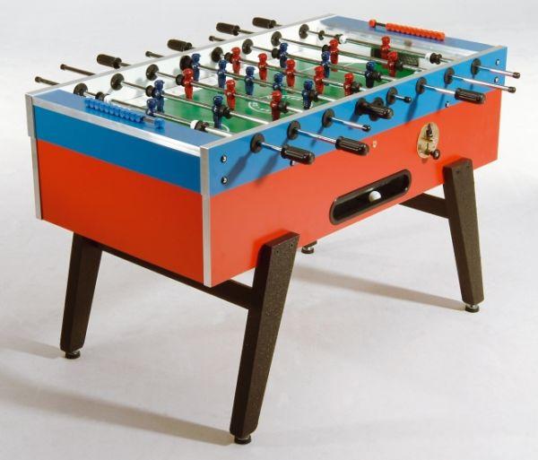 KICKER GARLANDO MASTER -CUP - ST, mit Münzeinwurf, Dekor Blau rot