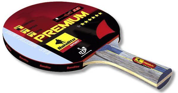 """Premium ****** Star, Erstklassiger """"Allround""""-Schläger, mit 6 mm mehrschichtigem Hartholz"""