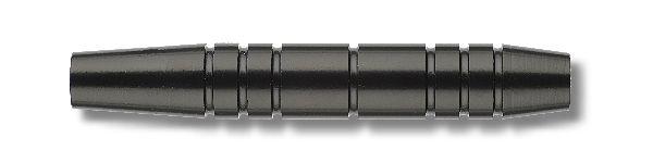 Softbarrel Karella Eco Line (Set), schwarz eloxiert, Gewicht 16g, Länge: 52mm