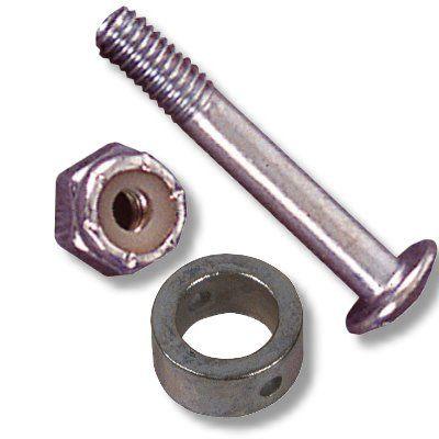 Stellring Metall inklusive Schraube und Mutter