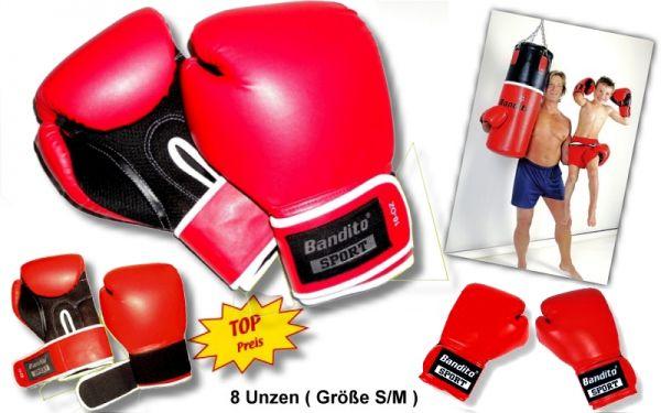 Boxhandschuh Bandito 8 Unzen, Größe S/M