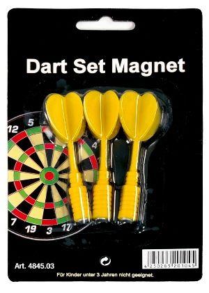 Magnet-Dart-Ersatzpfeile gelb