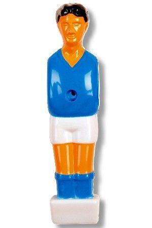 "Kickerfigur ""Hobby"" , blau /weiß"