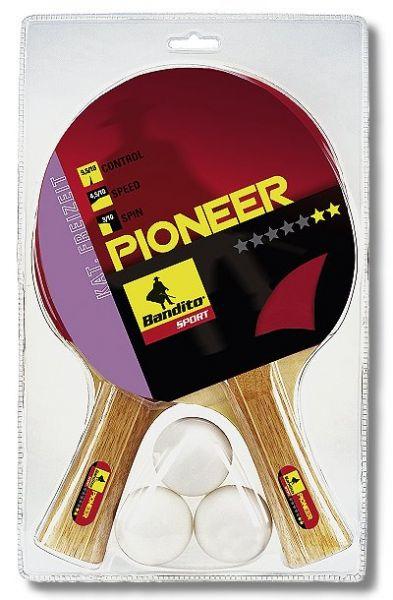 """Schläger-Set Pioneer ** Star, mit 2 hochwertigen Schlägern """"Pioneer"""" und 3 Qualitätsbällen"""