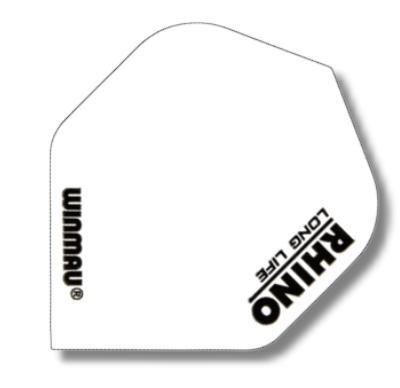 Dart-Fly Winmau RHINO, weiß, 6905-116