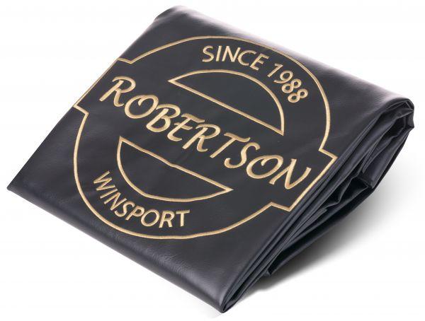 Abdeckplane Robertson Vinyl schwarz für Billardtische