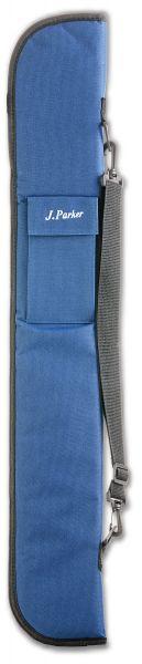 Queuetasche J. Parker für 1 Unterteil und 2 Oberteile, blau
